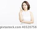 女性肖像系列手標誌 40320756