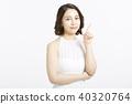 女性肖像系列手標誌 40320764