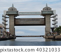floodgate, sluice gate, numadukou 40321033