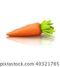 carrot on white 40321765