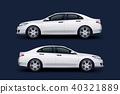 sport sedan white 40321889