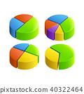 round, design, vector 40322464