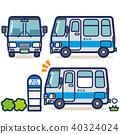 รถบัส,ป้ายรถเมย์,วิ่ง 40324024