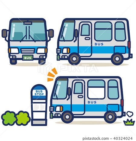 工作车辆公共汽车(银色系统) 40324024