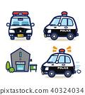 警車 巡邏車 派出所 40324034