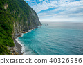 landscape of Qingshui Cliff in Taiwan 40326586