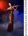 performer, stage, violin 40326968
