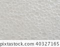 Close up of foam sheet texture background 40327165