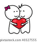 love, couple, heart 40327555