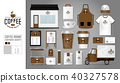 Corporate identity template Set 18.  40327578