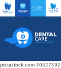 vector dental logo 40327592