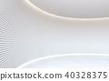 empty modern white 40328375