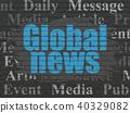 wall, news, concept 40329082