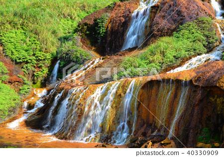 台灣 金瓜石 黃金瀑布 The Golden Waterfall 黄金瀑布 40330909