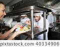 chef, waitress, restaurant 40334906