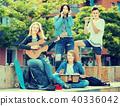 carefree, teenager, music 40336042