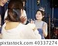 박수, 생일파티, 젊은여자 40337274