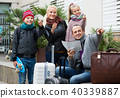 family, travellers, map 40339887