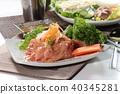 raw chicken 40345281