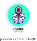 LOGISTIC SERVICES LOGO 40346281