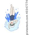 仰泳 40347774