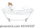 沐浴整個身體的女人 40349397