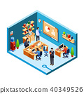 vector office room 40349526