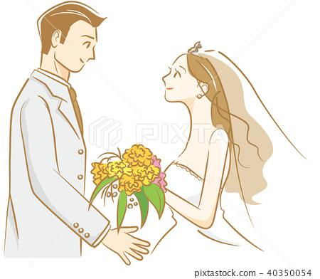 新郎 新娘 婚禮 40350054