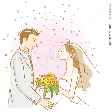 bridegroom, groom, bride 40350055
