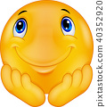 Thinking emoticon smiley 40352920