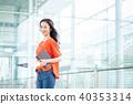หญิงธุรกิจ 40353314