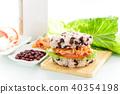 米汉堡 红豆 泡菜 莴苣 番茄 杏鲍菇 早餐 清爽 Rice Burger ライスバーガー 40354198