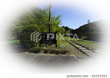 Nagaragawa Railway terminal end Hoshino Station 40354561