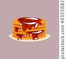 열매, 아침, 식사 40355682