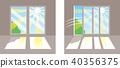 창문 햇빛 40356375