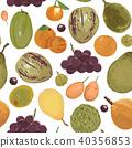 fruit pattern orange 40356853