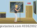 vector, studio, man 40362002