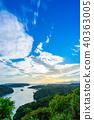 sunset sky landscape 40363005