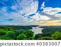 sunset sky landscape 40363007