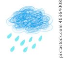 구름, 비구름, 비 40364008