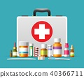 first, aid, vector 40366711