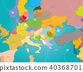 vector, world, travel 40368701