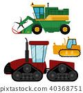 vector, tractor, combine 40368751