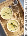 asparagus cheese creamy 40369384