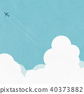 배경 - 여름 - 구름 40373882