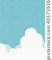 배경 - 여름 - 구름 40373936