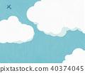 พื้นหลัง - ฤดูร้อน - เมฆ 40374045