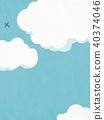 summer, blue sky, cloud 40374046