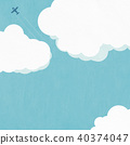 sky, blue sky, cloud 40374047