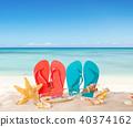 beach, starfish, coast 40374162